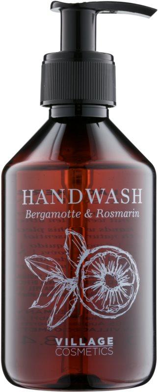 Village Herbal Bergamot & Rosemary tekuté mýdlo na ruce