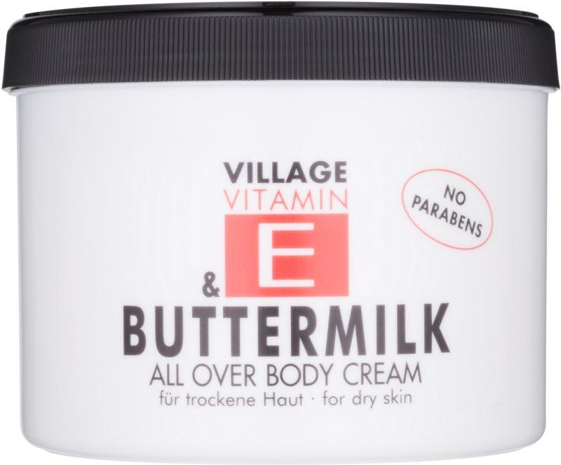 Village Vitamin E Buttermilk Körpercreme