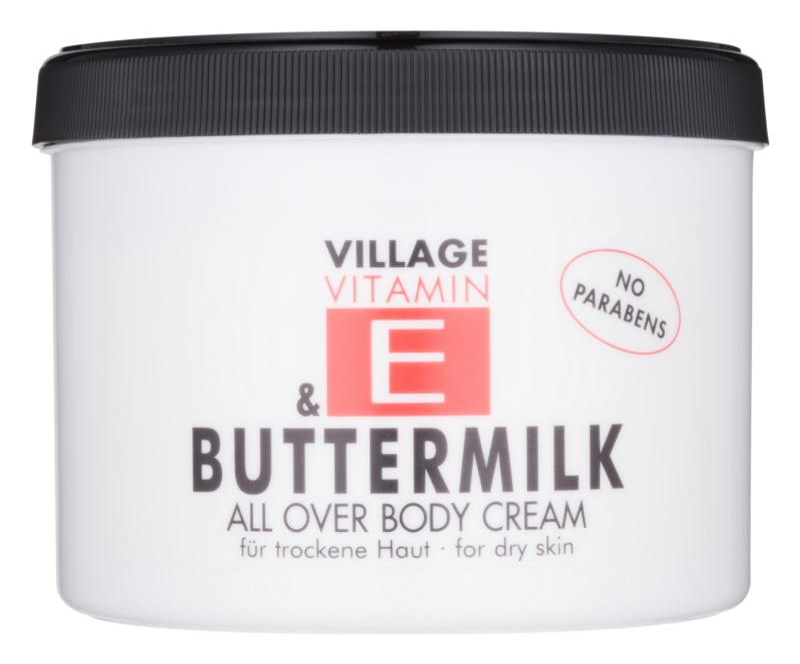 Village Vitamin E Buttermilk krem do ciała
