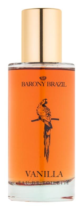 Village Barony Brazil Vanilla Eau de Toilette para mulheres 50 ml