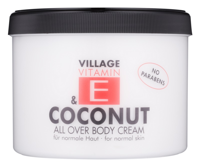 Village Vitamin E Coconut krema za telo