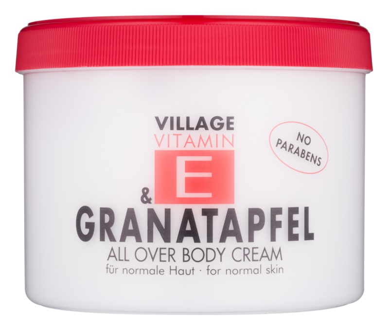 Village Vitamin E Pomegranate Body Cream