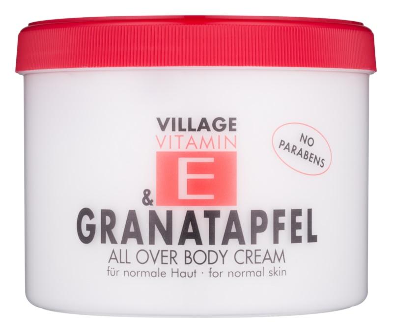 Village Vitamin E Pomegranate crema de corp