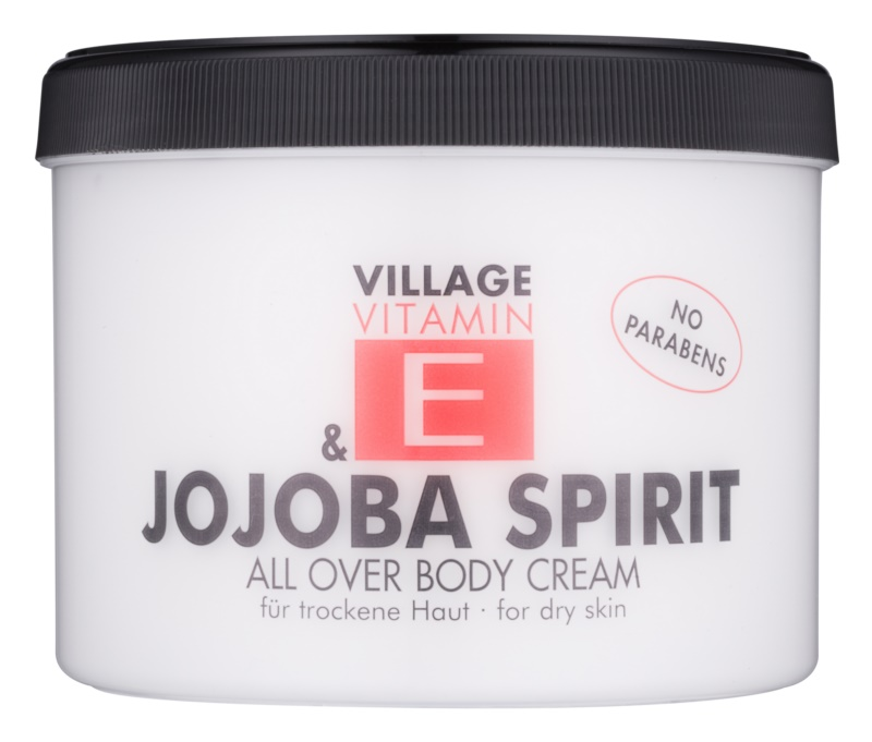 Village Vitamin E Jojoba Spirit Body Cream