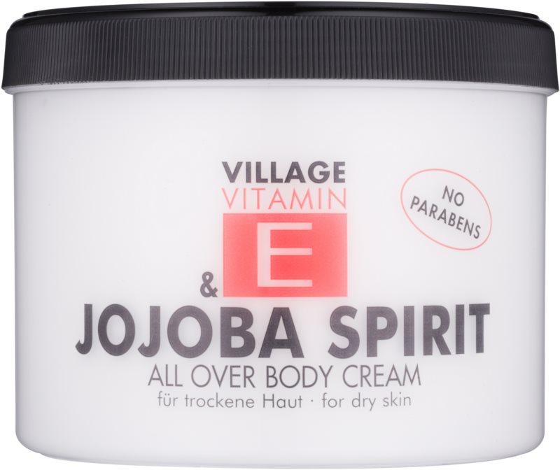 Village Vitamin E Jojoba Spirit krem do ciała