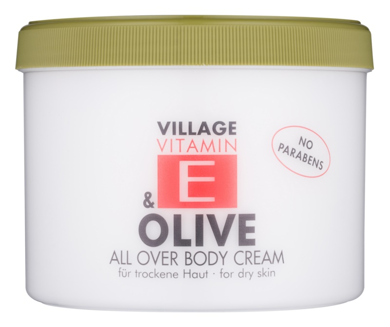 Village Vitamin E Olive krem do ciała