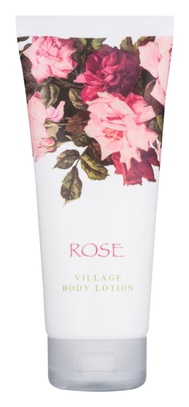 Village Rose testápoló tej nőknek 200 ml