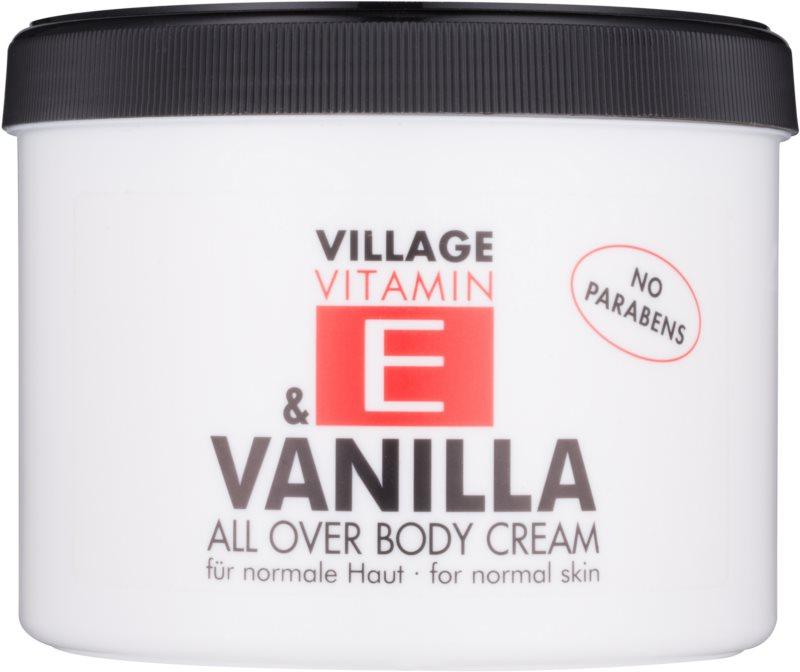 Village Vitamin E Vanilla крем для тіла