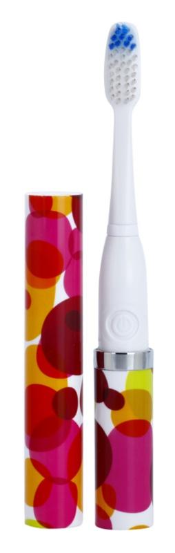Violife Slim Sonic Bubbles escova de dentes sónica elétrica com cabeça de reposição