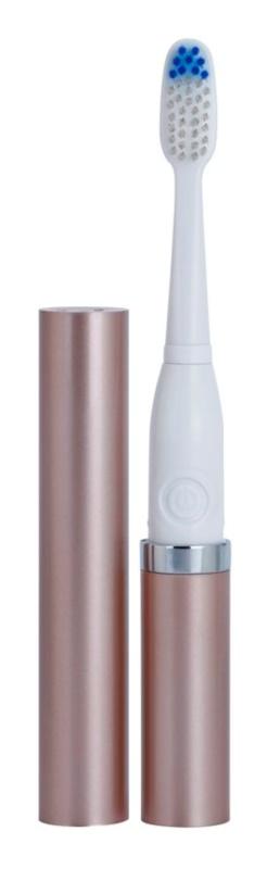 Violife Slim Sonic Rose Gold sonična četkica za zube na baterije, sa zamjenskom glavom