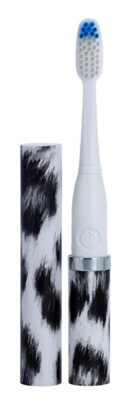 Violife Slim Sonic White Leopard cepillo de dientes sónico eléctrico con cabezal de recambio