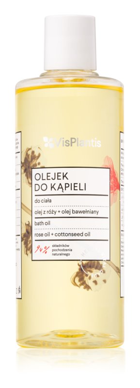 Vis Plantis Herbal Vital Care Rose & Cottonseed Oil koupelový olej
