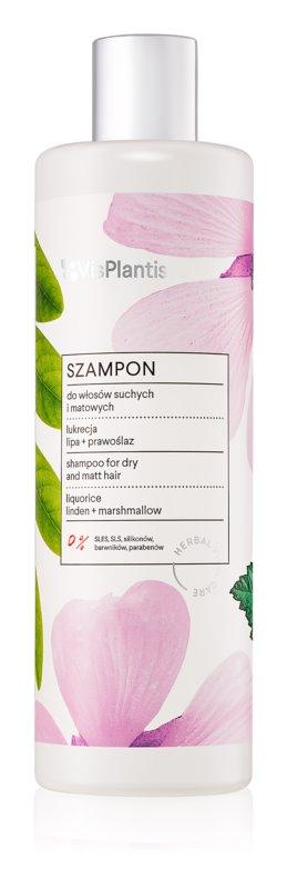 Vis Plantis Herbal Vital Care Liquorice šampon za suhe lase in lase brez sijaja