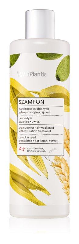 Vis Plantis Herbal Vital Care Pumpkin Seed Oil šampon za oslabljene in poškodovane lase