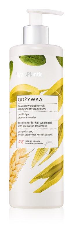 Vis Plantis Herbal Vital Care Pumpkin Seed Oil negovalni balzam za poškodovane lase