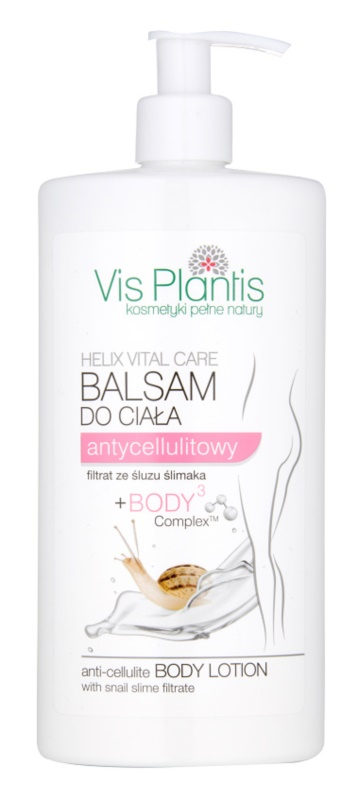 Vis Plantis Helix Vital Care Bodylotion zum Abnehmen und gegen Cellulite mit Snail Extract