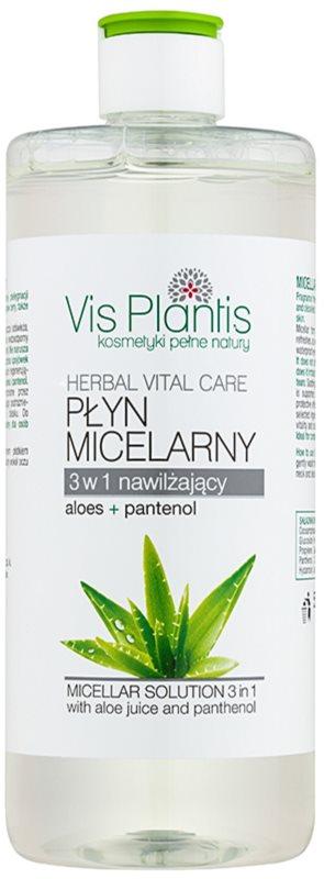 Vis Plantis Herbal Vital Care agua micelar 3 en 1