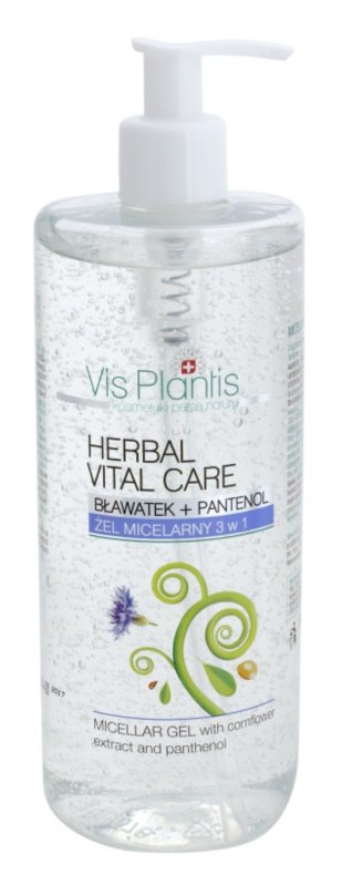 Vis Plantis Herbal Vital Care Micellar Gel 3in1