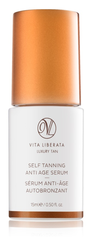 Vita Liberata Skin Care samoopalovací sérum na obličej proti příznakům stárnutí