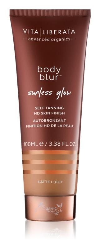 Vita Liberata Body Blur emulsie autobronzanta cu efect autobronzant