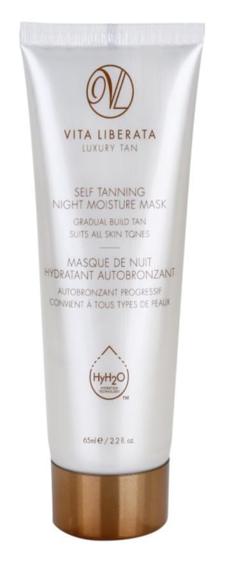 Vita Liberata Skin Care Zelfbruinende Hydraterende Nachtmasker