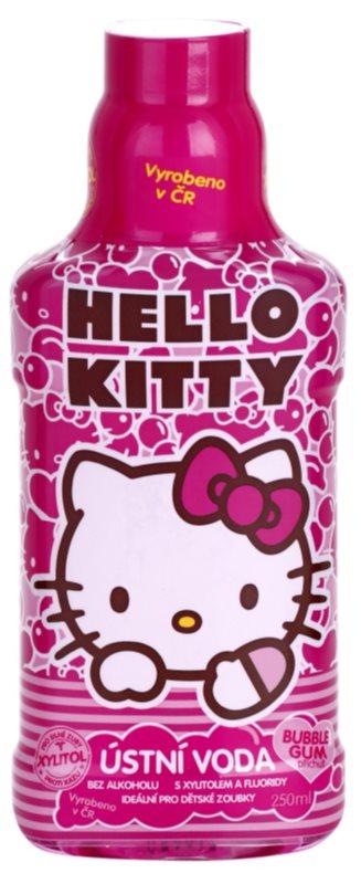 VitalCare Hello Kitty płyn do płukania jamy ustnej dla dzieci