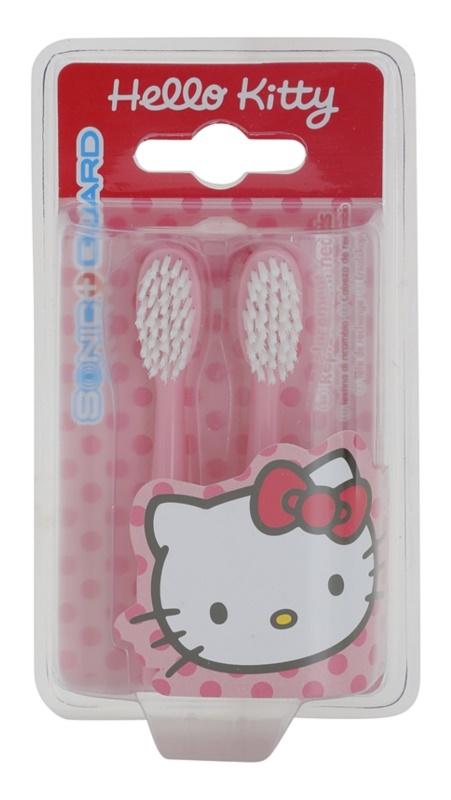 VitalCare Hello Kitty náhradní hlavice pro sonický bateriový zubní kartáček 2 ks