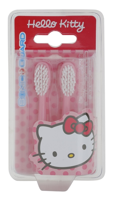 VitalCare Hello Kitty Replacement Heads for Battery-Operated Sonic Toothbrush 2 pcs