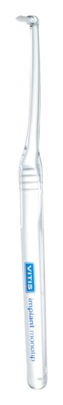 Vitis Implant Monotip speciální zubní kartáček na neviditelná rovnátka extra soft