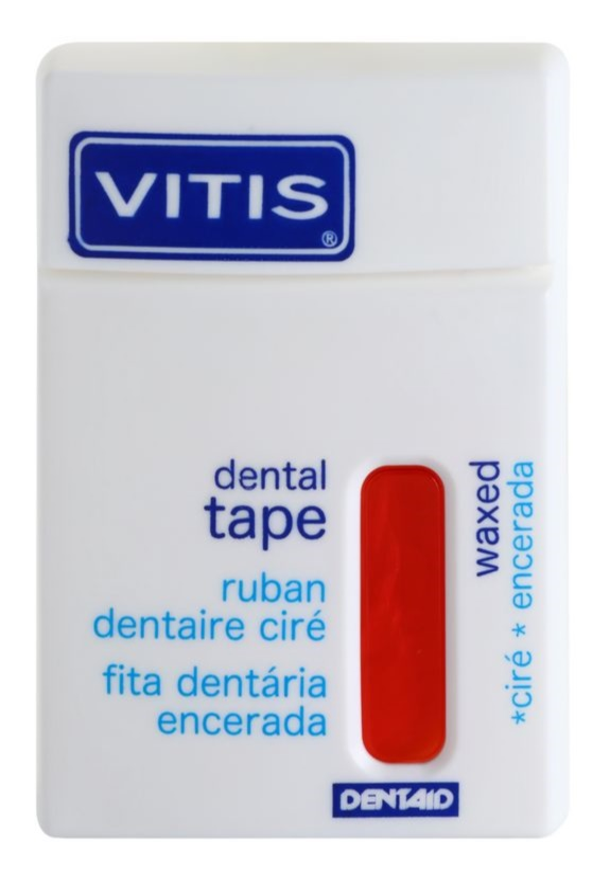 Vitis Dental Care woskowany pasek dentystyczny