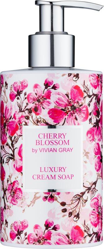 Vivian Gray Cherry Blossom cremige Seife für die Hände