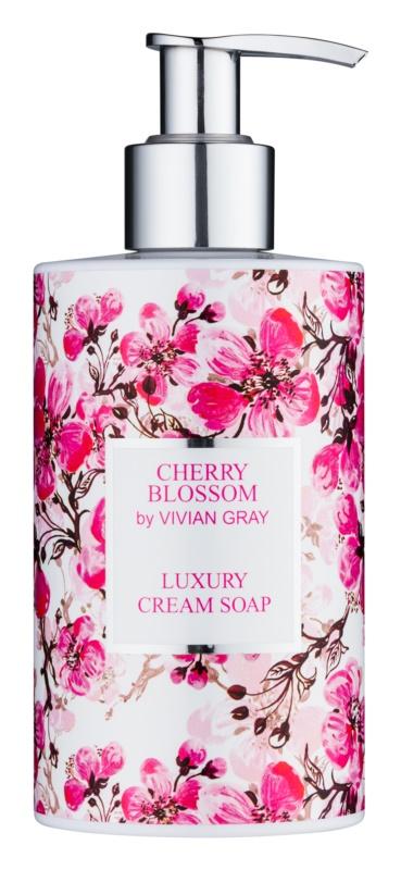 Vivian Gray Cherry Blossom kremowe mydło do rąk