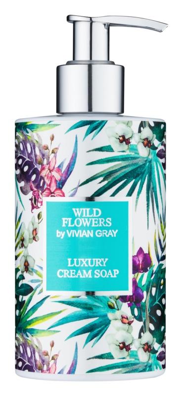 Vivian Gray Wild Flowers cremige Seife für die Hände
