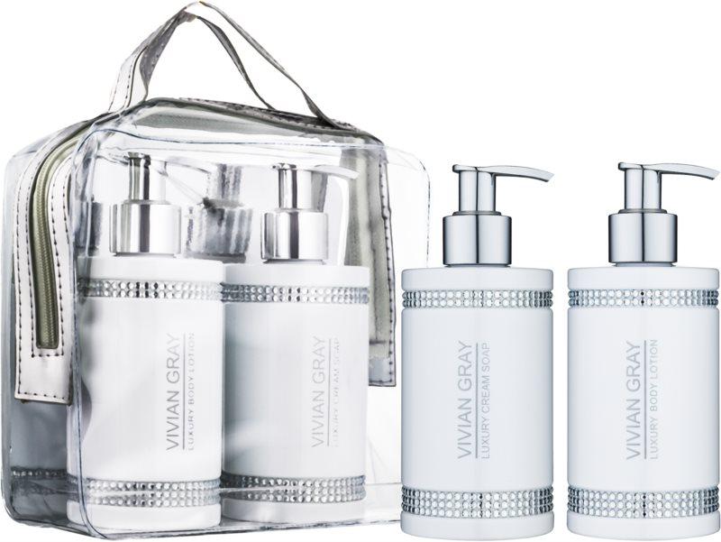 Vivian Gray Crystals White Cosmetic Set III.