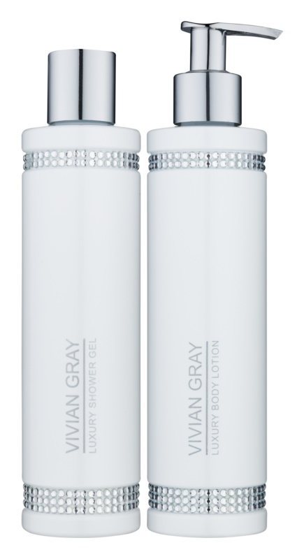 Vivian Gray Crystals White Cosmetic Set I.