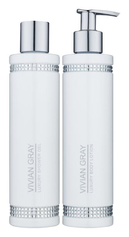 Vivian Gray Crystals White set cosmetice I.