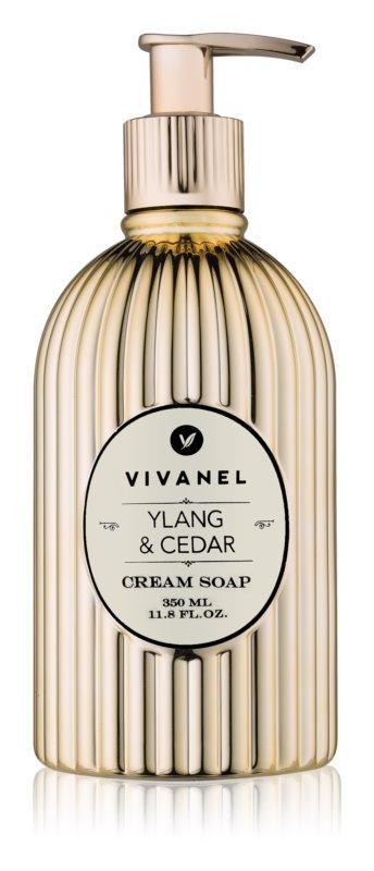 Vivian Gray Vivanel Ylang & Cedar krémové mydlo