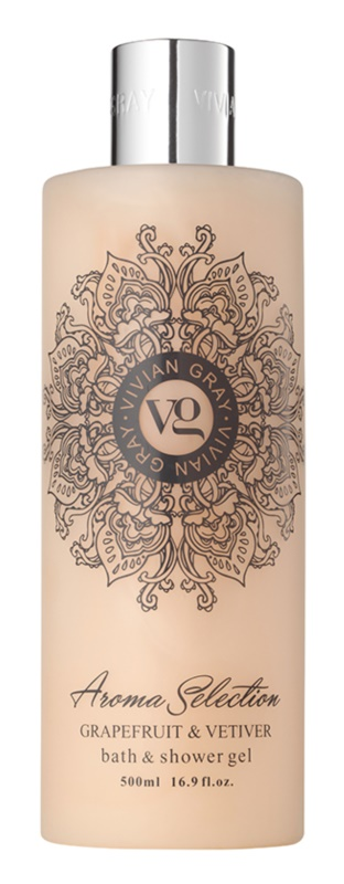 Vivian Gray Aroma Selection Grapefruit & Vetiver sprchový a koupelový gel