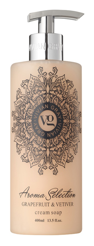 Vivian Gray Aroma Selection Grapefruit & Vetiver krémové tekuté mydlo
