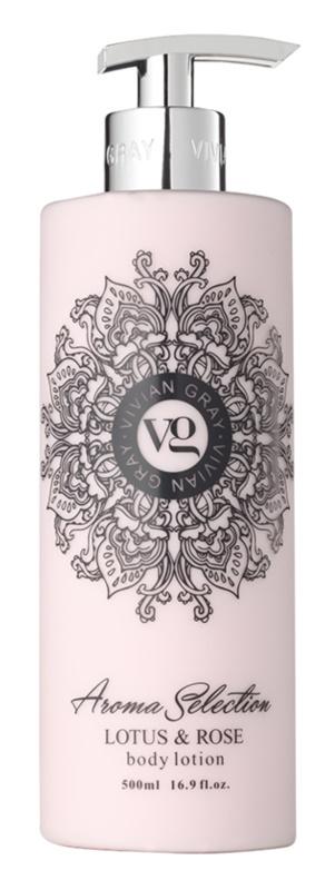 Vivian Gray Aroma Selection Lotus & Rose losjon za telo