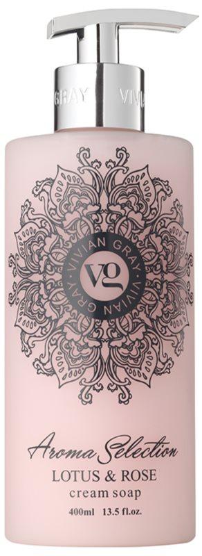Vivian Gray Aroma Selection Lotus & Rose Sapun lichid