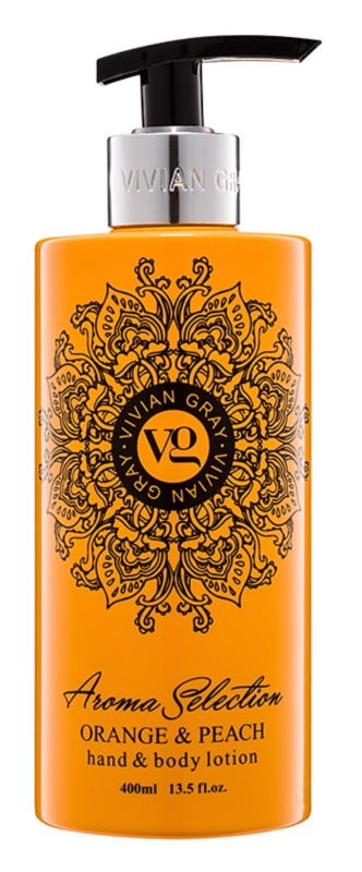 Vivian Gray Aroma Selection Orange & Peach Hand and Body Lotion