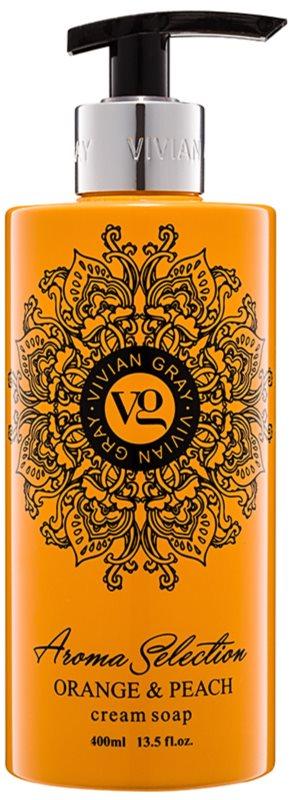 Vivian Gray Aroma Selection Orange & Peach kremasto tekoče milo