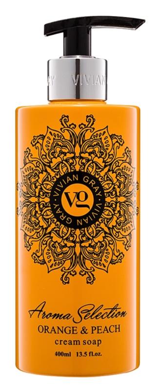 Vivian Gray Aroma Selection Orange & Peach krémové tekuté mydlo