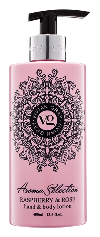 Vivian Gray Aroma Selection Raspberry & Rose Lapte de mâini și de corp