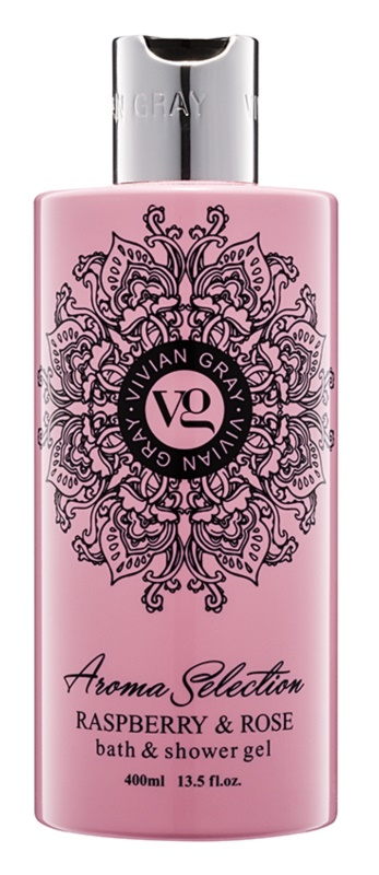 Vivian Gray Aroma Selection Raspberry & Rose Dusch- und Badgel