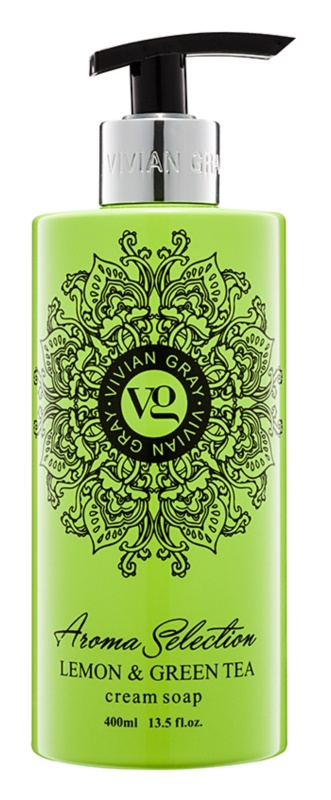 Vivian Gray Aroma Selection Lemon & Green Tea Cream Liquid Soap