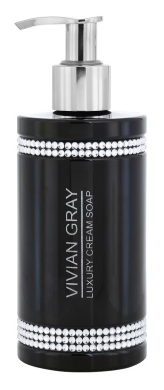 Vivian Gray Crystals Black Creamy Soap