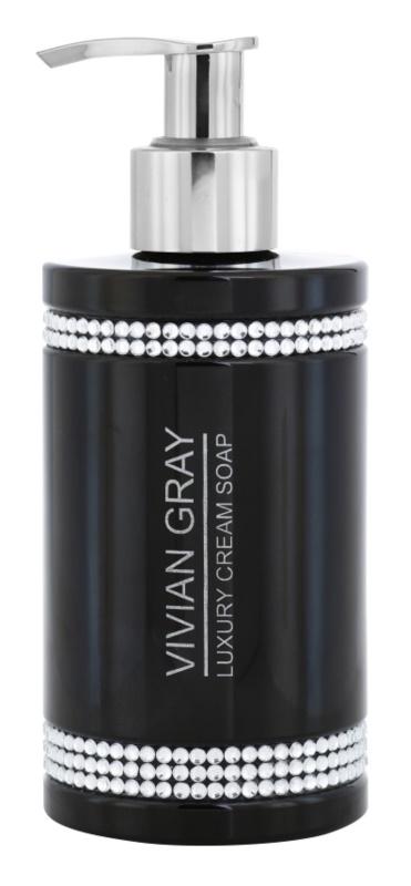 Vivian Gray Crystals Black cremige Seife