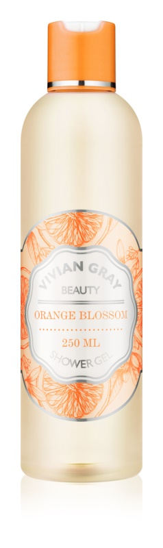 Vivian Gray Naturals Orange Blossom gel de dus